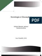 Apostila de Sociologia e Educacao I