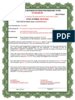 ~4 Bonded Promissory Note 1