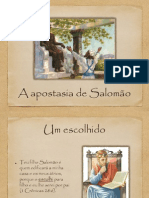 A apostasia do Rei Salomão