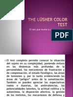The LÜsher color test