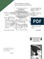 Normas para Presentar la Tesis en la Sala de Simulación
