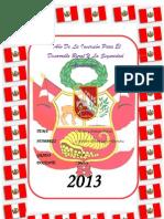 Caratula Fiesta Patrias