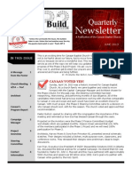 CBC Phase II Newsletter June 2013