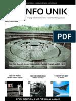 Majalah Aneka Info Unik Edisi 1 2013