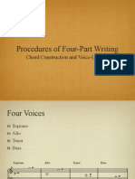 Four Part Writing