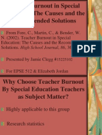 converted powerpoint - teacher burnout