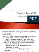 02 Crimes Contra a Pessoa 122 a 128