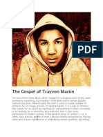 The Gospel of Trayvon Martin