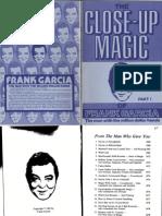 Frank Garcia Close-Up Magic-1