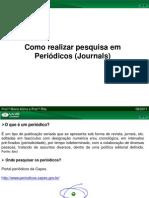 Como Pesquisar Periodicos