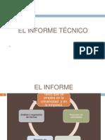 El Informe Tecnico