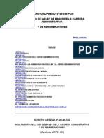 DECRETO SUPREMO Nº 005-90