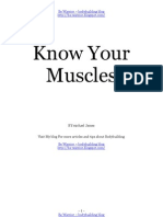 Know Your Muscles