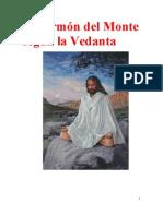 El Sermn Del Monte Seg n La Vedanta-Swami Prabhavananda
