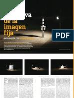 La narrativa de la imagen fija. Entrevista con Oswaldo Ruiz