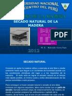 Secado Natural de La Madera 2011