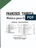 Tárrega, Francisco _...Preludio No. 6...