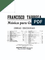 Tárrega, Francisco _...Preludio No. 7...