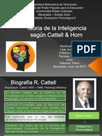 Teoría de la Inteligencia según Cattell & Horn1
