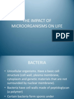 The Impact of Microorganisms on Life