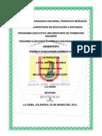 Resumen Ejecutivo Sobre El Curriculo Nacional Basico