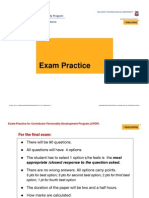 02 ExamCoaching STUDENT PRESENTATION [Compatibility Mode]