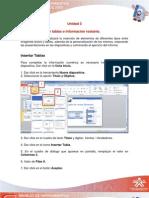 Unidad 3- Lección 5 PowerPoint