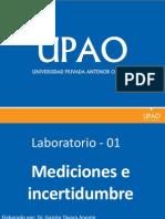Medicion e Incertidumbre - Biofisica