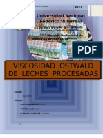 VISCOSIDAD OTSWALD