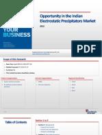 Opportunity in the Indian Electrostatic Precipitators Market_Feedback OTS_2012