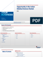 Opportunity in the Indian Medical Device Market_Feedback OTS_2012