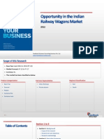 Opportunity in the Indian Railway Wagons Market _Feedback OTS_2012