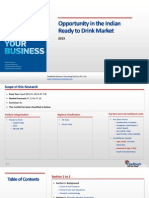 Opportunity in the Indian Ready to Drink Market_Feedback OTS_2013