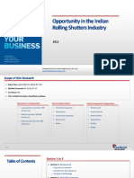 Opportunity in the Indian Rolling Shutters Industry_Feedback OTS_2012