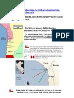 Conflicto Peru Chile