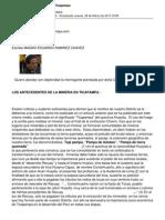 El Problema de La Mineria en Ticapampa