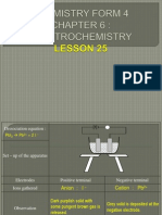 Electrochemistry Lesson 25