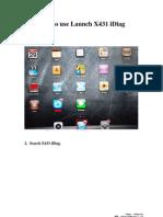Launch x431 Idiag User Manual Detail