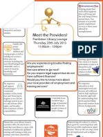 Meet the Providers at Frankston Library