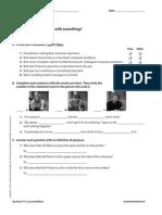 UNIT 09 TV Activity Worksheets