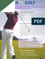 GCC Golf Flyer