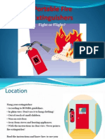 Portable Fire Extinguishers#