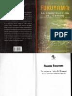 La Construccion Del Estado Fukuyama Francis