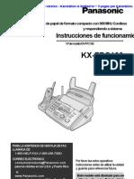 Manual en Ingles Del Fax Panasonic Kxfpc165