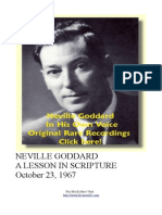 Neville Goddard PDF a Lesson in Scripture