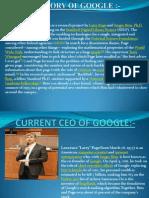 History of Google