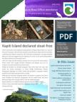 Department of Conservation Kapiti Wellington newsletter July 2013
