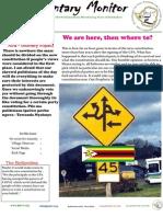 Parliamentary Monitor Newsletter -11 October 2012