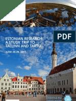 Estonian Research