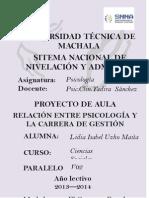 Proyecto de Aula de Psicologia